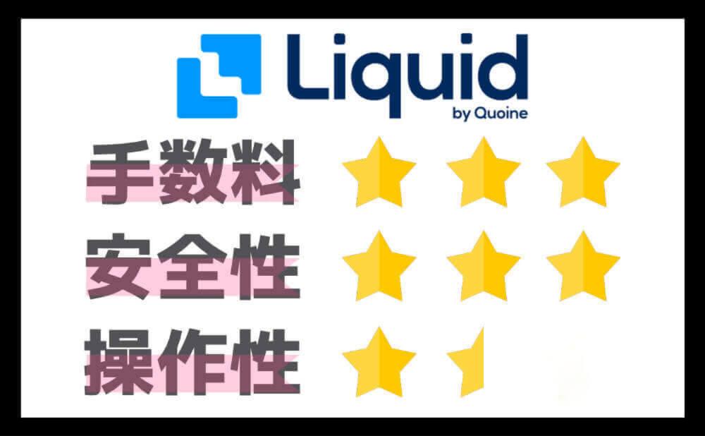 仮想通貨はいくらから 3位のLiquid by Quoineで1万円から始められる