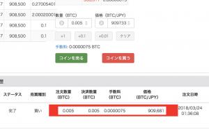 3月23日 1万円チャレンジ1