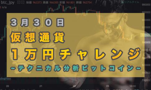 3月30日 1万円チャレンジ