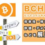 ビットコインキャッシュの将来性 サムネイル