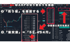 bitbankでXRPの買い方5