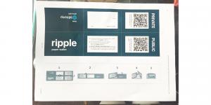 リップルペーパーウォレットの作成手順を図解説30