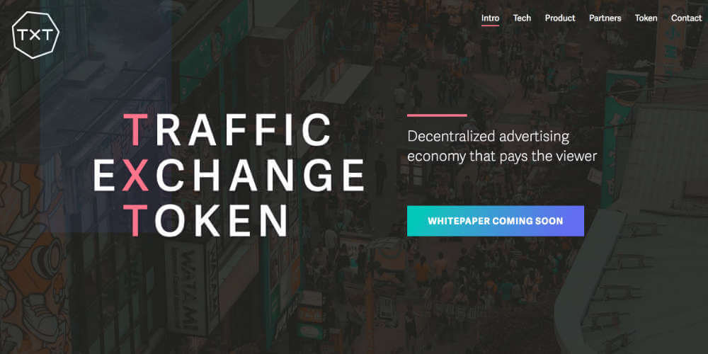 広告を見て稼ぐ? TRAFFIC EXCHANGE TOKEN