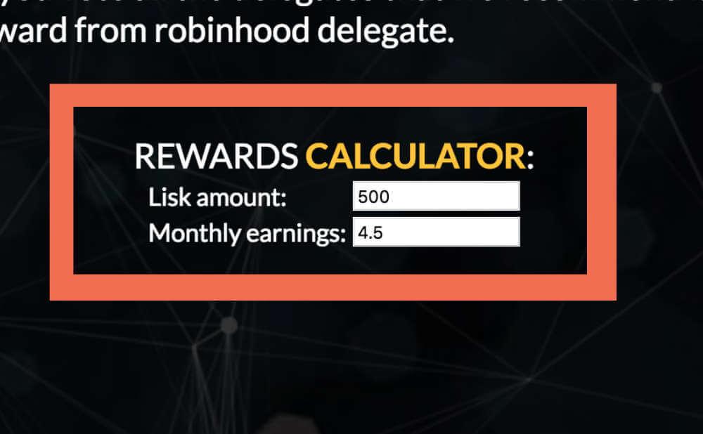 500と入力すると月利 4.5 LSK と表示されました。