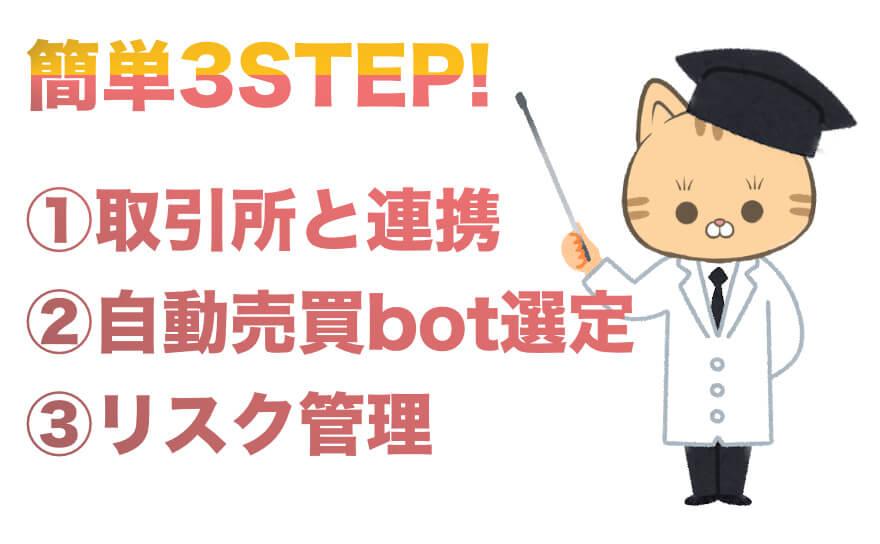 3STEP!QUOREA(クオレア)の始め方