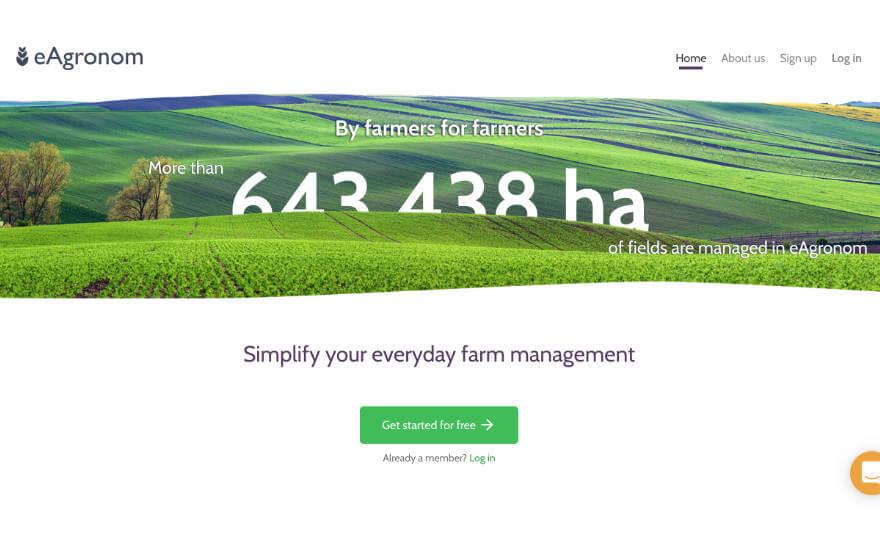 農家がもっと自分の時間をつくれるようになる E-Agronomの画像