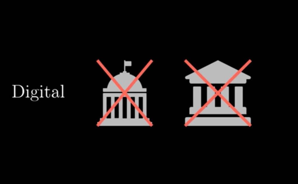 ビットコインは組織によって管理されていないの画像1