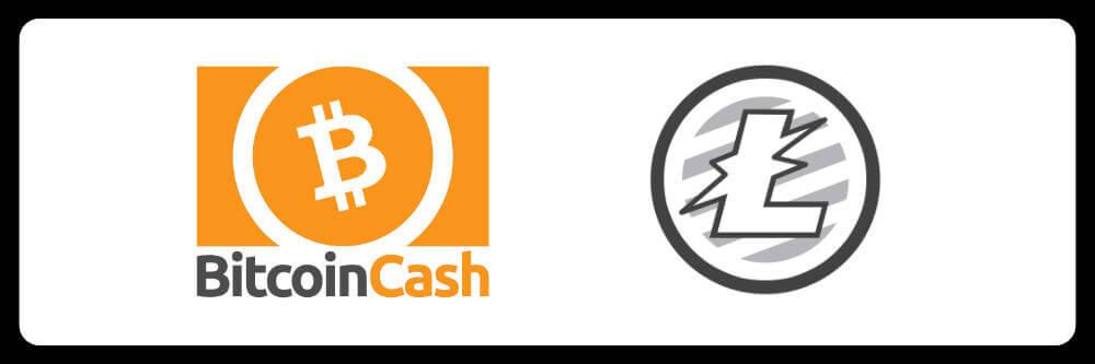 BCH(ビットコインキャッシュ)かLTC(ライトコイン)を送金通貨の基本にする