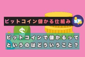 ビットコインの儲かる仕組み サムネイル