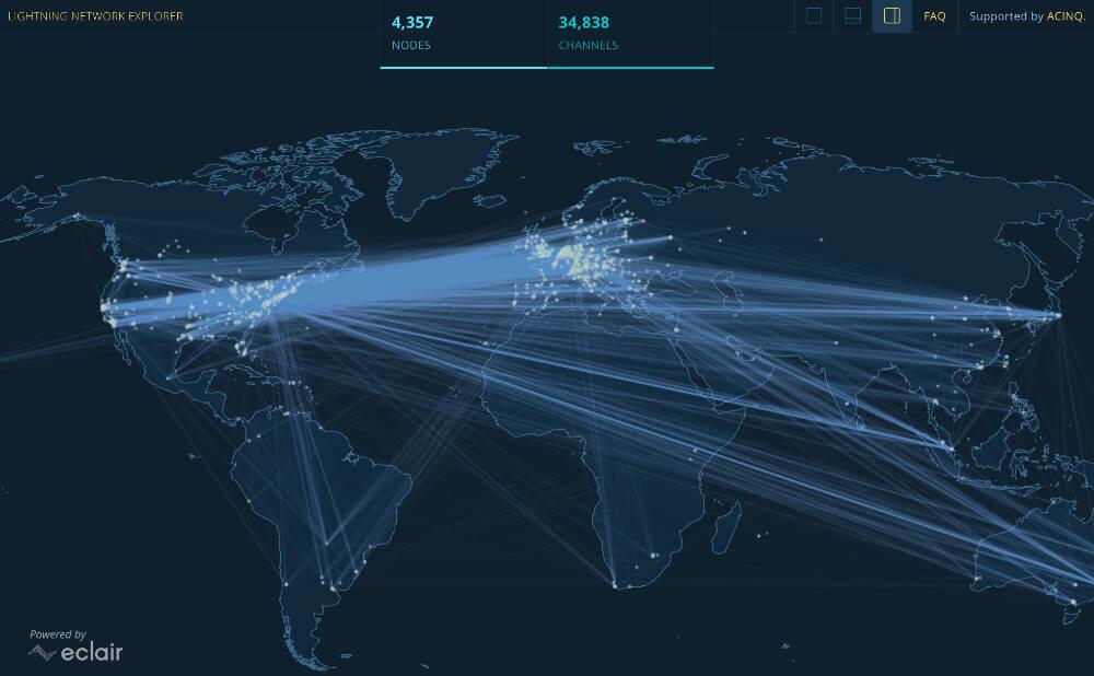 ライトニングネットワーク エクスプローラー