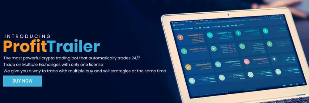 ProfitTrailerのトップ画像 海外に絞って仮想通貨の自動売買botサービスをまとめてみた