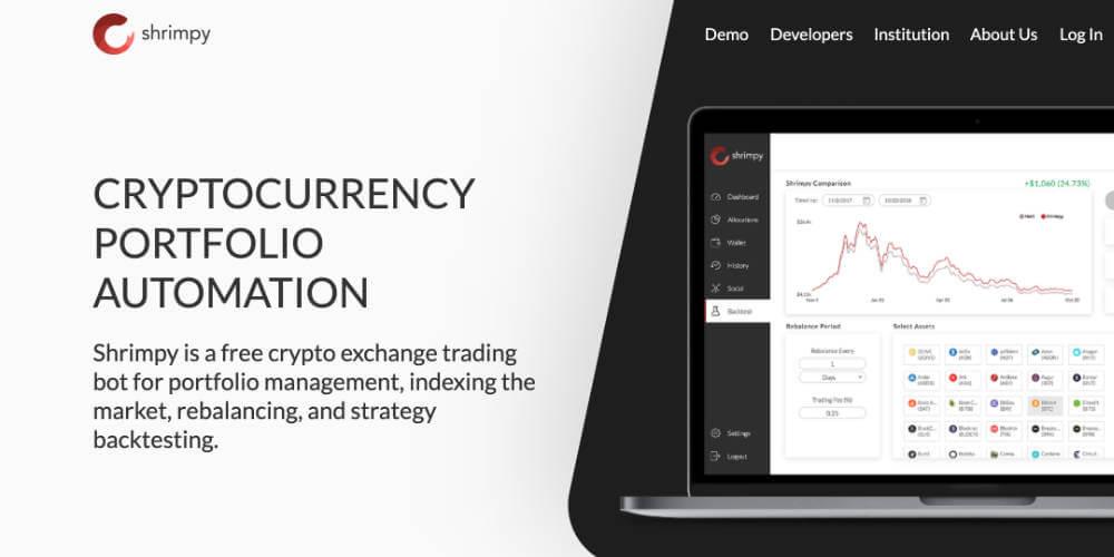 Shimpyのトップ画像 海外に絞って仮想通貨の自動売買botサービスをまとめてみた