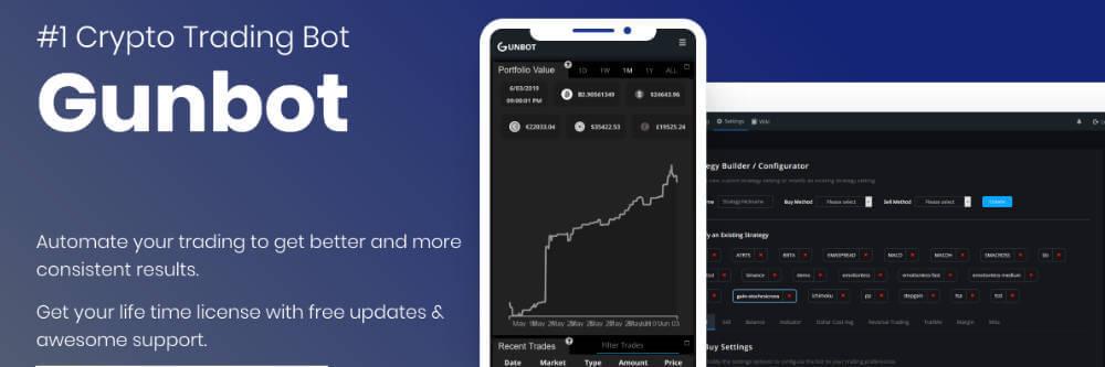 GUNBOTのトップ画像 海外に絞って仮想通貨の自動売買botサービスをまとめてみた