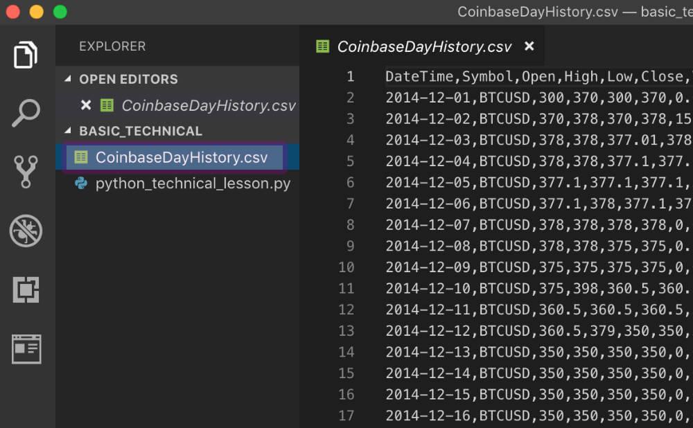 CSVデータのダウンロード手順3